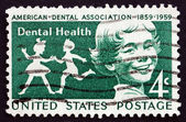 Postage stamp USA 1959 Children, Dental Health — Stock Photo