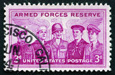 Postage stamp USA 1970 Armed Forces Reserve — Stock Photo