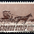 Postage stamp USA 1968 Opening of the Cherokee Strip — Stock Photo