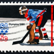 Postage stamp USA 1979 Ice Hockey, Olympic Games, Lake Placid — Stock Photo