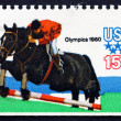 Stock Photo: Postage stamp US1979 Equestrian, Olympic Games, Moscow