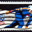 Postage stamp US1979 Speed Skating, Olympic Games, Lake Placid — Stock Photo #31576273