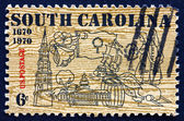 Postage stamp USA 1979 Symbols of South Carolina — Stock Photo