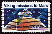 Postage stamp USA 1978 Viking 1, Robotic Space Probe — Стоковое фото
