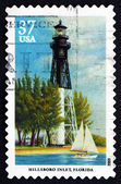 Postage stamp USA 2003 Hillsboro Inlet, Florida, Lighthouse — Stock Photo
