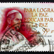 Postage stamp Chile 1979 Pope Paul VI — Stock Photo