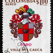 Postage stamp Colombia 1973 Arms of Toro, Colombia — Stock Photo