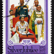 Postage stamp Grenad1977 Coronation of Elizabeth II — Stock Photo #32539611