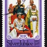 Постер, плакат: Postage stamp Grenada 1977 Coronation of Elizabeth II