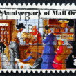Postage stamp USA 1972 Rural Post Office Store — Stock Photo