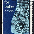 Postage stamp USA 1967 View of Model City  — Stock Photo