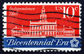 Postage stamp USA 1974 Independence Hall — Stock Photo