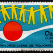 Postage stamp Cuba 1973 Anti-polio Campaign — Stock Photo