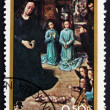 Postage stamp Nicaragu1983 Adoration of Kings, Christmas — Stock Photo #32670777