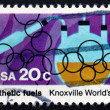 Stock Photo: Postage stamp US1982 Synthetic Fuels