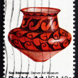 Stock Photo: Postage stamp US1977 Pottery from SIldefonso, New Mexico