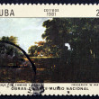 Postage stamp Cub1981 Gardens, Palmde Mallorca — Stock Photo #33296377
