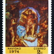 Postage stamp Nicaragua 1974 The Last Judgment, by Michelangelo — 图库照片