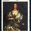 Postage stamp Cuba 1981 Lady Mayo, by Anton Van Dyck — Stock Photo