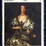 Постер, плакат: Postage stamp Cuba 1981 Lady Mayo by Anton Van Dyck