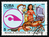 Postage stamp Cuba 1983 State Quality Seal — Stock Photo