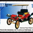 Postage stamp Cuba 2010 Pope-Tribune, Electric Car, 1903 — Stock Photo
