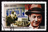 Postage stamp Cuba 2008 Jose Raul Capablanca, Chess Player — Stock Photo
