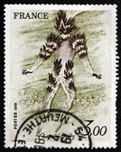 Postage stamp France 1979 Fire Dancer — Stock Photo