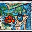Postage stamp France 1976 Still Life, by Maurice de Vlaminck — Stock Photo #33798585