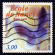 Postage stamp France 1999 Detail of Noctuelles Dish, by Emile Ga — Stock Photo