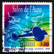 Postage stamp France 1998 Paris Auto Show — Foto Stock
