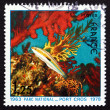 Postage stamp France 1978 Fish and Corals — Stock Photo