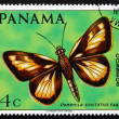 Postage stamp Panama 1968 Pamphila Epictetus, Butterfly — Stock Photo