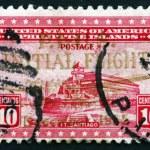 Postage stamp Philippines 1935 Fort Santiago, Citadel — Stock Photo