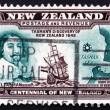 Postage stamp New Zealand 1940 Abel Tasman — Stock Photo