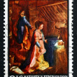 Postage stamp New Zealand 1969 Nativity, by Federico Fiori — Stock Photo