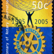 Postage stamp Australia 2005 Rotary International — Stock Photo