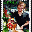Postage stamp Australia 2007 Adelaide Central Market — Stock Photo