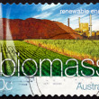 Postage stamp Australia 2004 Biomass Energy, Renewable Energy — Stock Photo