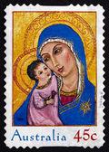 Postage stamp Australia 2005 Madonna and Child, Christmas — Stock Photo