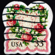 Postage stamp USA 1999 Heart, Love — Stock Photo #34330613