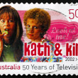 Postage stamp Australia 2006 Kath and Kim, Television Show — Stock Photo
