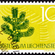 Stock Photo: Postage stamp Liechtenstein 1966 Soil Conservation, Tree, Nature