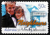 Postage stamp Australia 2006 Neighbours, Television Show — Stock Photo
