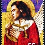 Postage stamp Australia 2008 Angel, Christmas — Stock Photo #34494439