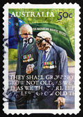 Postage stamp Australia 2008 Veterans, ANZAC — Stock Photo