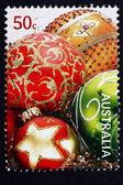 Postage stamp Australia 2008 Baubles, Christmas Decoration — Stock Photo