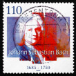Postage stamp Germany 2000 Johann SebastiBach, composer — Stock Photo #34571227