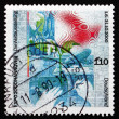 Postage stamp Germany 1999 Expo 2000, Hannover — Stock Photo #34571277
