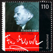 Postage stamp Germany 2000 Friedrich Ebert, President of Germany — Stock Photo
